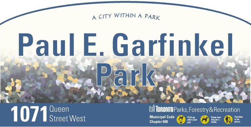 Paul E Garfinkel Park
